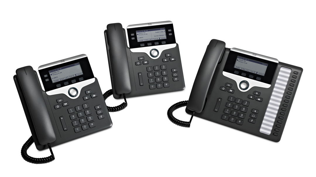 Cisco IP Phone 7800 Series - Inline T C