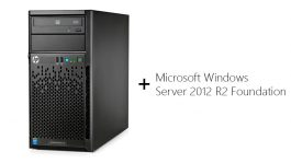 HPE ProLiant ML10 v2 + Windows Server Bundle